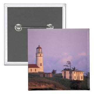 USA, Oregon, Port Orford Region, Cape Blanco 15 Cm Square Badge