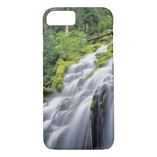 USA, Oregon, Proxy Falls. Proxy Falls rushes iPhone 8/7 Case