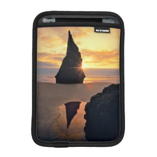 USA, Oregon. Rock Formation At Sunset iPad Mini Sleeve