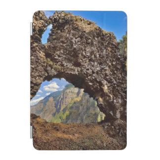 USA, Oregon. Rock Of Ages Arch In Columbia River iPad Mini Cover