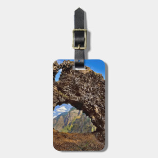USA, Oregon. Rock Of Ages Arch In Columbia River Luggage Tag