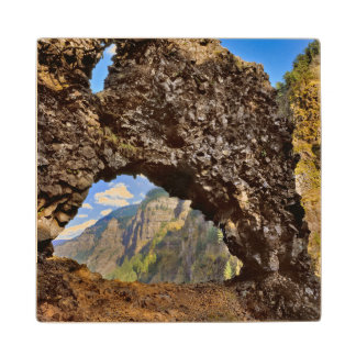 USA, Oregon. Rock Of Ages Arch In Columbia River Wood Coaster