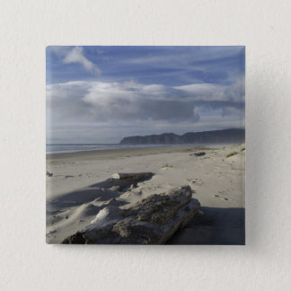 USA, Oregon, Sand Dunes and Ocean, Pacific City 2 15 Cm Square Badge