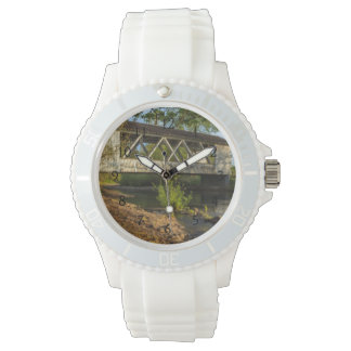 USA, Oregon, Scio, Larwood Wayside, Larwood 2 Wrist Watches
