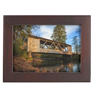 USA, Oregon, Scio, Larwood Wayside, Larwood Keepsake Box