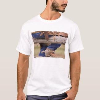 USA, Oregon, Seneca, Ponderosa Ranch. Cowboy T-Shirt