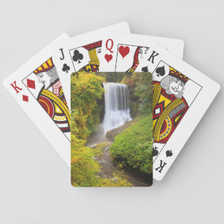 USA, Oregon, Silver Falls State Park 3 Playing Cards