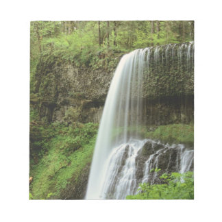 USA, Oregon, Silver Falls State Park. Lower Notepads