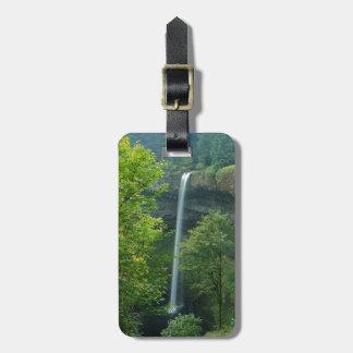 USA, Oregon, Silver Falls State Park Luggage Tag