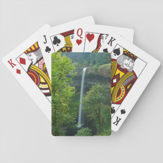USA, Oregon, Silver Falls State Park Playing Cards
