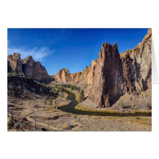 USA, Oregon, Smith Rock State Park Card