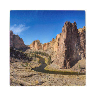 USA, Oregon, Smith Rock State Park Wood Coaster