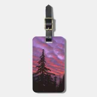 USA, Oregon, Three Sisters Wilderness, Vivid Bag Tag