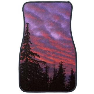 USA, Oregon, Three Sisters Wilderness, Vivid Car Mat