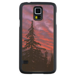 USA, Oregon, Three Sisters Wilderness, Vivid Maple Galaxy S5 Case