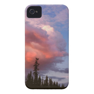 USA, Oregon, Umpqua National Forest. Storm iPhone 4 Cover