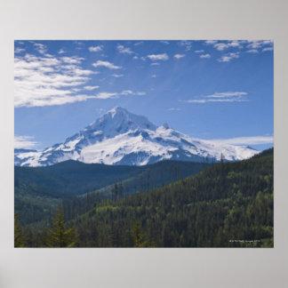 USA, Oregon, View of Mount Hood Print