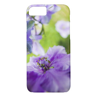 USA, Oregon, Willamette Valley, Larkspur Close 2 iPhone 8/7 Case