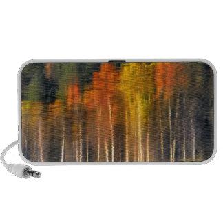 USA, Oregon, Williamson River. Fall colors Portable Speakers