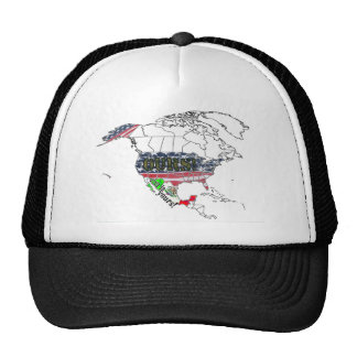 USA OURS - MEXICO YOURS MESH HAT