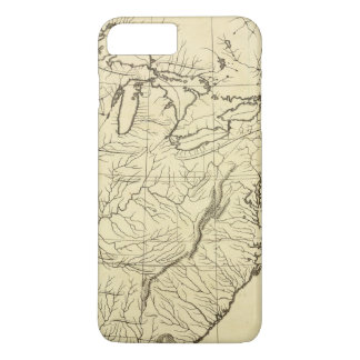 USA outline iPhone 8 Plus/7 Plus Case