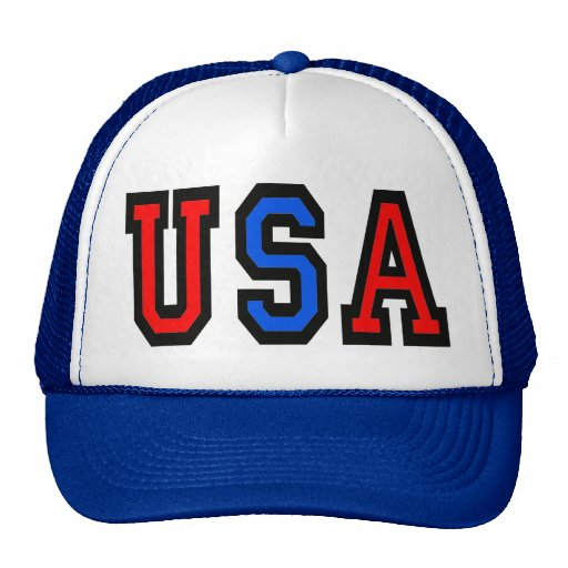 USA Patriotic Baseball Cap Trucker Hats
