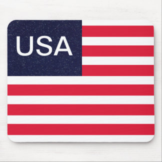 USA Patriotic Fourth of July Independence Day Mousepad