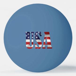 USA Patriotic Ping Pong Ball