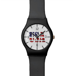 USA Patriotic Watch