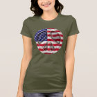 USA Peace Flag T-Shirt