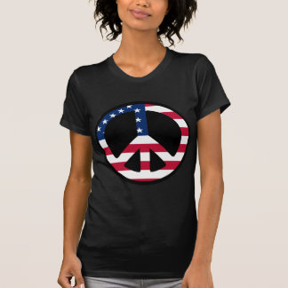 USA Peace Symbol Designs & Products! T-Shirt