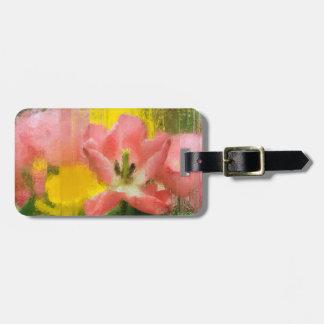 USA, Pennsylvania. Abstract tulip impression Luggage Tag