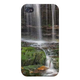 USA, Pennsylvania, Benton. Delicate Waterfall Cover For iPhone 4