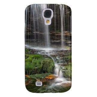 USA, Pennsylvania, Benton. Delicate Waterfall Galaxy S4 Case
