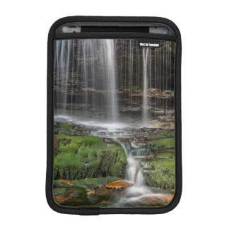 USA, Pennsylvania, Benton. Delicate Waterfall iPad Mini Sleeve