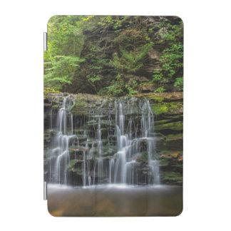 USA, Pennsylvania, Benton. Waterfall In Ricketts iPad Mini Cover