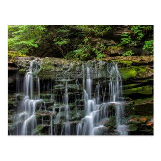 USA, Pennsylvania, Benton. Waterfall In Ricketts Post Cards