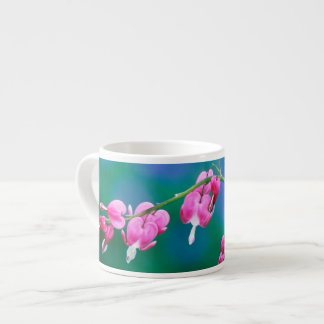 USA, Pennsylvania. Bleeding heart flowers Espresso Cup