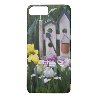 USA, Pennsylvania. Garden irises grow around iPhone 8 Plus/7 Plus Case
