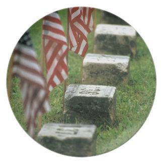 USA, Pennsylvania, Gettysburg. Civil war Plate