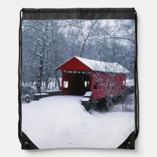 USA, Pennsylvania, Mariana County Drawstring Bag