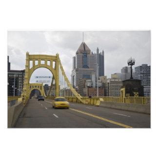 USA, Pennsylvania, Pittsburgh. The 6th Street Photo Print