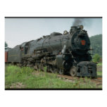 USA, Pennsylvania RR_Trains of the World Poster