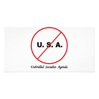 USA PHOTO GREETING CARD