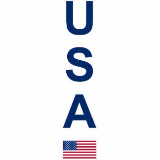 USA PHOTO SCULPTURE KEY RING