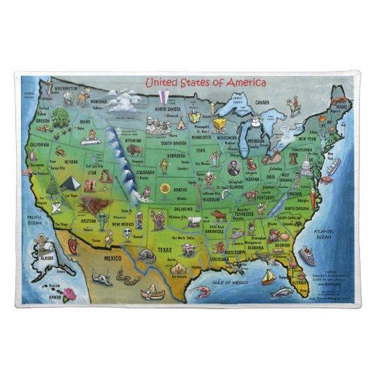 USA Place Mat