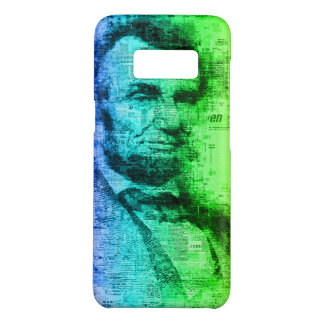 USA President Abraham Lincoln Rainbow Typography Case-Mate Samsung Galaxy S8 Case