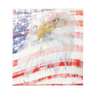 USA Proud Notepad