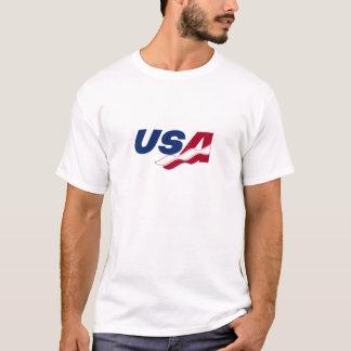 USA Racquetball Dry Fit Sleeveless Tee Shirt