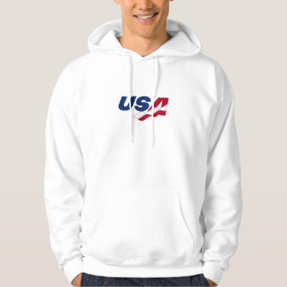 USA Racquetball Hooded Sweatshirt